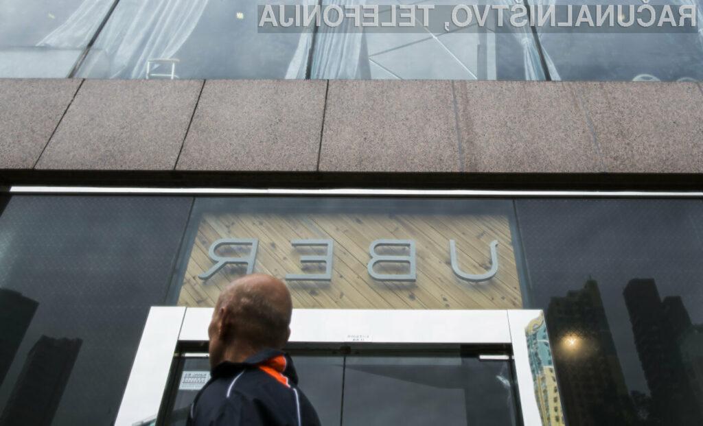 Sporno storitev Uber je doslej uporabila že več kot milijarda potnikov!