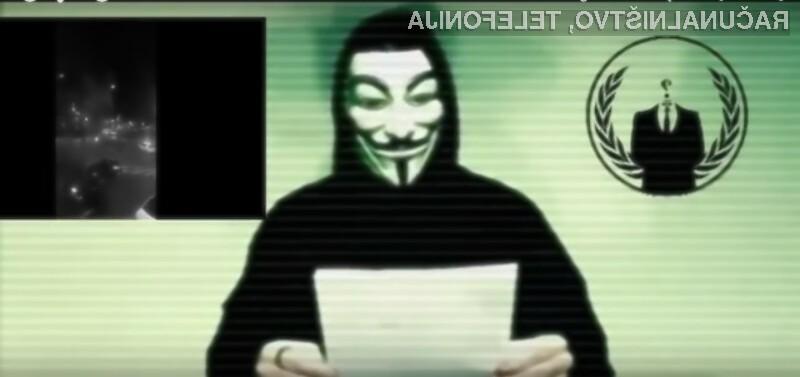 Donald Trump se je s svojimi izjavami zameril celo hekerski skupini Anonymous!