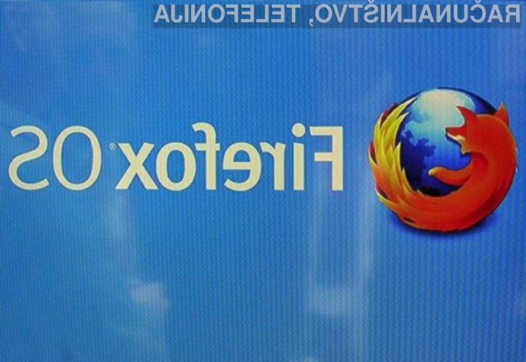 Firefox OS bo na voljo za bogato paleto naprav!