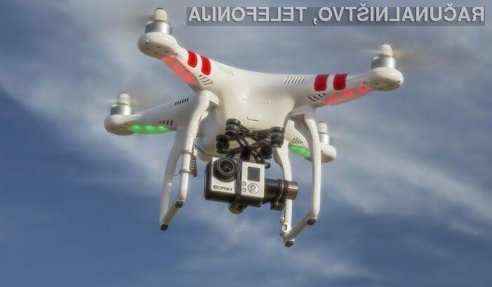 Uporabniki Twitterja bodo dron usmerjali kar preko tvitov!