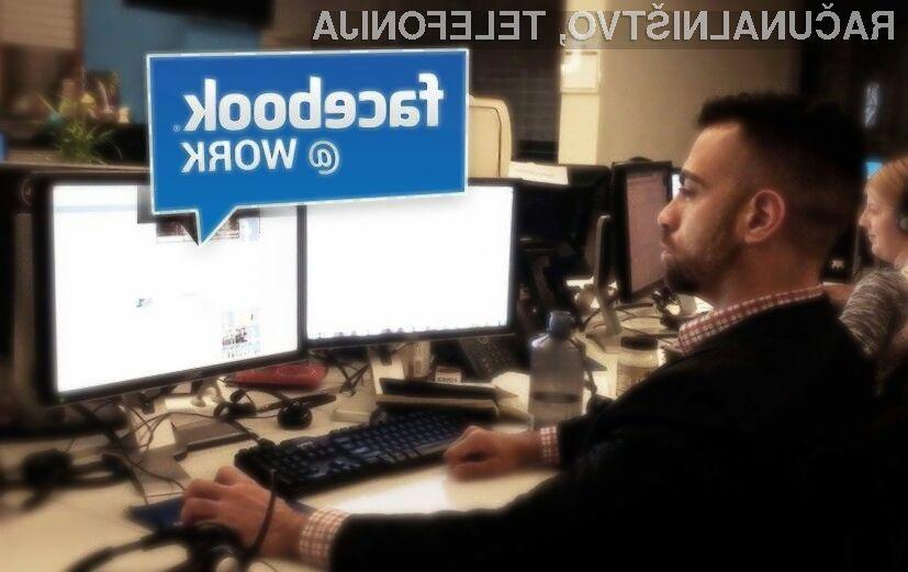 Facebook Messenger za poslovna okolja bo omogočal izmenjavo sporočil samo med sodelavci.