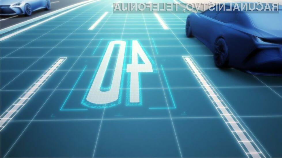 Novodobne avtomobilske karte v avtomobilih Toyota bodo generirane dinamično!