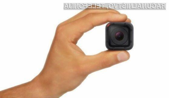 Maloprodajna cena miniaturne akcijske kamere GoPro Hero4 Session se v Evropi giba okoli 220 evrov.