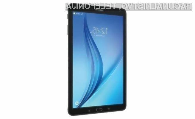 Novi tablični računalnik Samsung Galaxy Tab E 8.0 bo namenjen širšemu krogu uporabnikov!