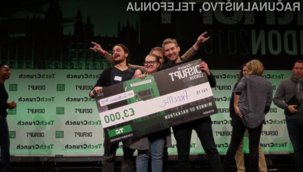 Mariborska ekipa EqualEyes zopet zmagala, tokrat na hackathonu TechCrunch Disrupt London 2015!