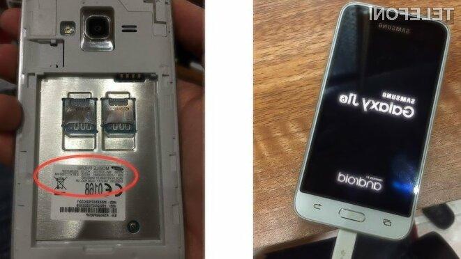 Za nakup mobilnika Samsung Galaxy J1 naj bi bilo v ZDA potrebno odšteti zgolj preračunanih 91 evrov.