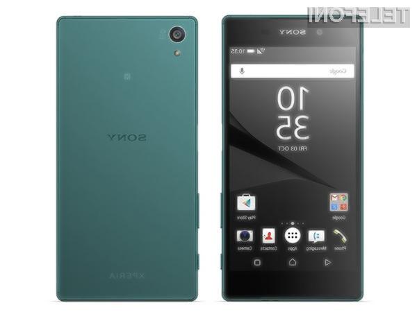 Znaki okrevanja za Sony