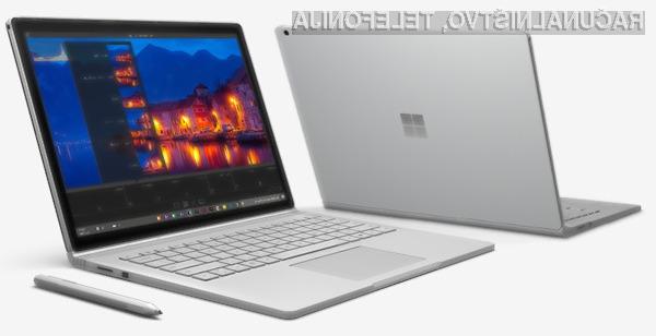 Vsestransko uporabni Microsoft Surface Book.