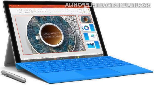 Kompaktni Microsoft Surface Pro 4.