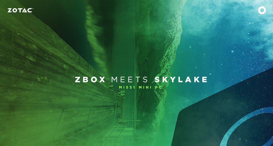 ZBOX s Skylakom