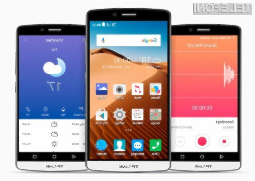 Ekskluzivno! TP-Link vstopil na trg pametnih mobilnih telefonov