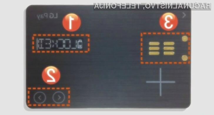Univerzalna kartica LG Pay White Card nam bo olajšala marsikatero opravilo.