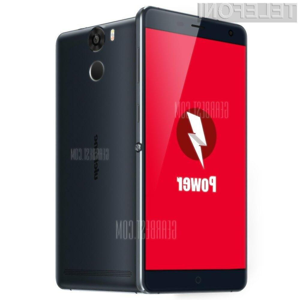 Pametni mobilni telefon Ulefone Power bomo ob zmerni uporabi lahko brez polnjenja uporabljali do štiri dni!