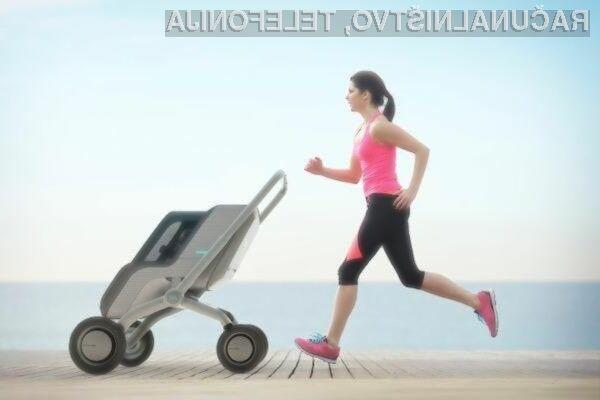 Pameten otroški voziček SmartBe bo precej olajšal življenje sodobnim staršem!