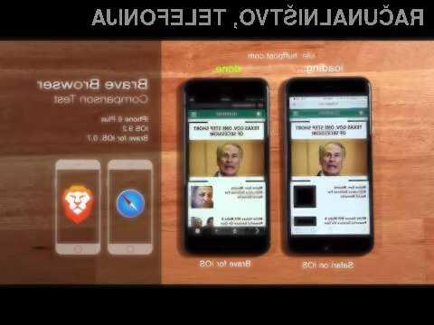 Spletni brskalnik Brave naj izkušnjo na spletu spremenil na bolje!