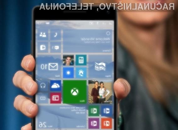 Nadgradnja na Windows 10 Mobile bo v najboljšem primeru na voljo februarja letos.
