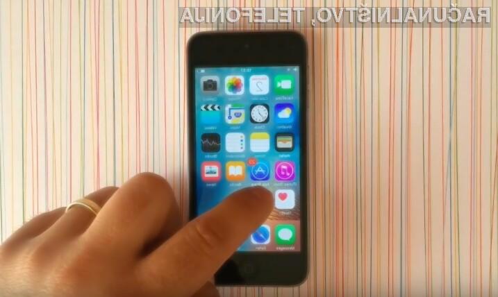 Z malo iznajdljivosti lahko skrijemo aplikacije z domačega zaslona naprav s sistemom iOS 9.2!