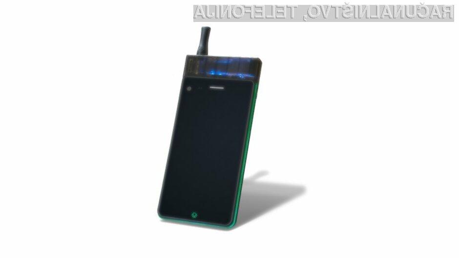 Prvi pametni mobilni telefon z elektronsko cigareto