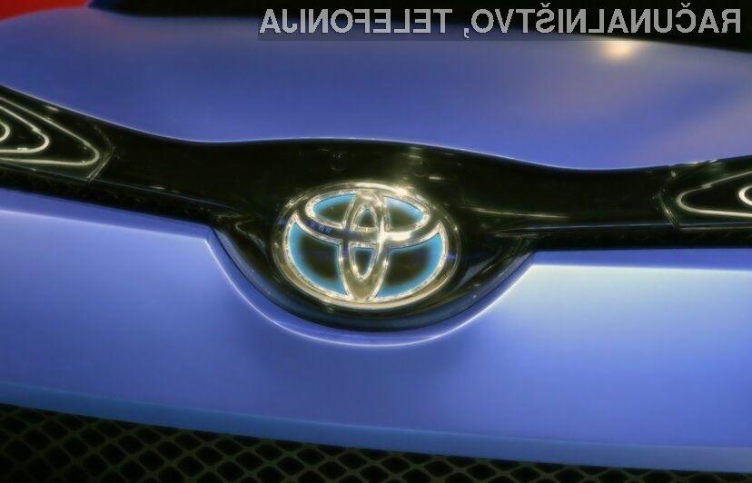 Toyota obljublja svet brez avtomobilskih nesreč!