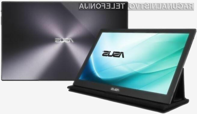 Za priklop zunanjega zaslona Asus USB-C zadostuje zgolj en prost priključek USB-C.