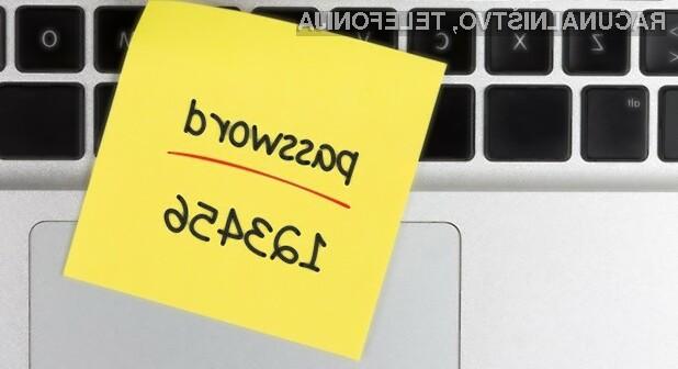 Ste danes že zamenjali vaše geslo?