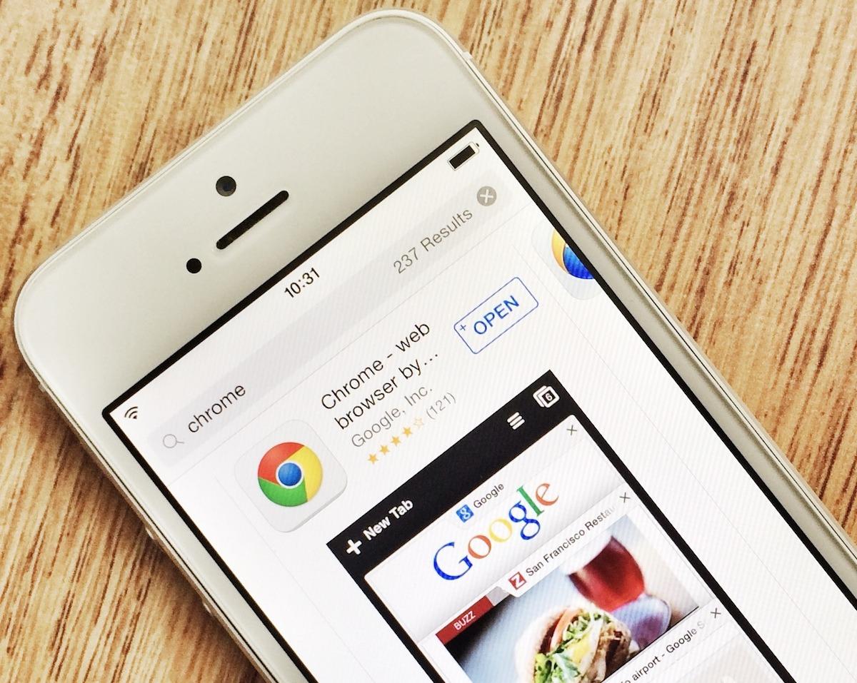 Novi Google Chrome za iOS je hitrejši in še bolj zanesljiv!