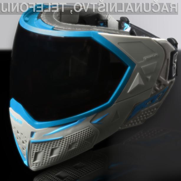 Vrhunska tehnološka očala bodo pripomogla k večjemu užitku pri igranju adrenalinskega športa paintball.