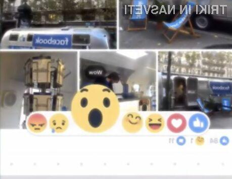 Uporaba različnih čustvenih simbolov precej olajša izražanje čustev na družbenem omrežju Facebook.