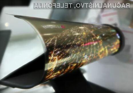 Upogljivi zaslon podjetja LG Displey bo revolucioniral izdelke potrošniške elektronike.