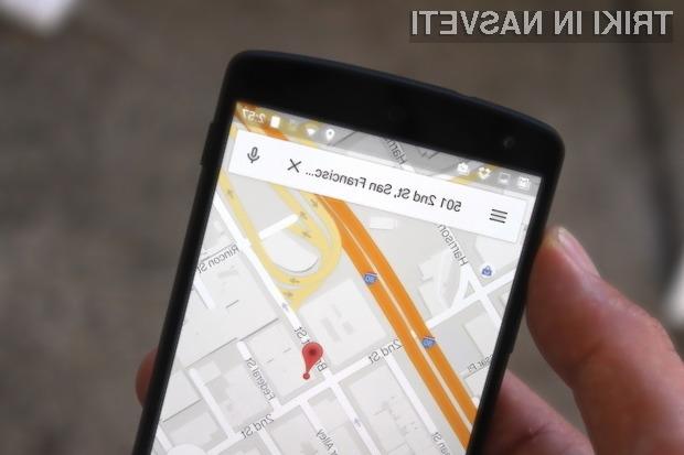 Novi Google Maps za Android bo po vsej verjetnosti »uganil«, kam se želite peljati.