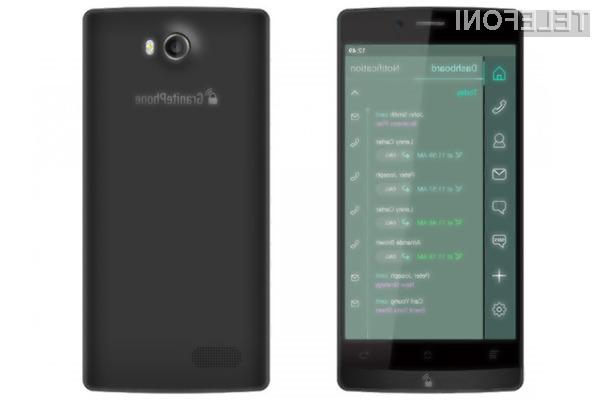 Najvarnejši pametni mobilni telefon na svetu GranitePhone je tudi med najdražjimi.