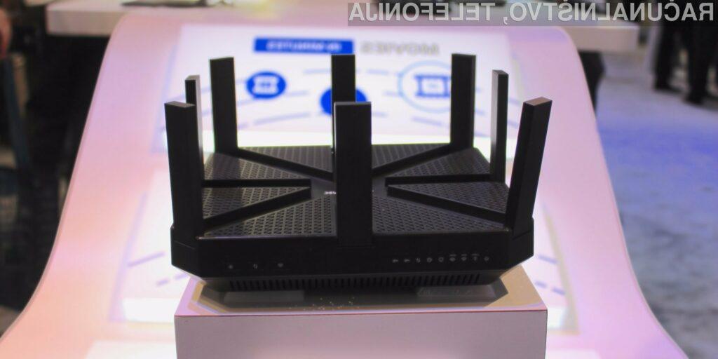 Usmerjevalnik TP Link AD7200 Talon lahko prenaša podatke s hitrostjo do 4,6 gigabitov na sekundo.