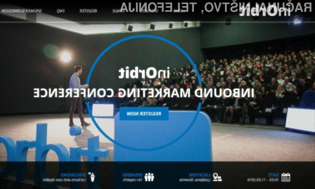 Največja inbound marketing konferenca v Evropi - v Sloveniji!