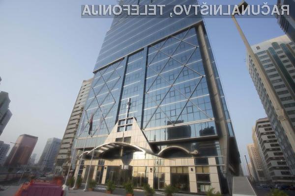 Gosti hotela Jannah Burj Al Sarab v Abu Dhabiju se zagotovo ne bodo pritoževali nad hitrostjo interneta!