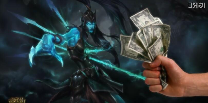 League of Legends v letu 2015 zaslužil kar 1,6 milijarde dolarjev