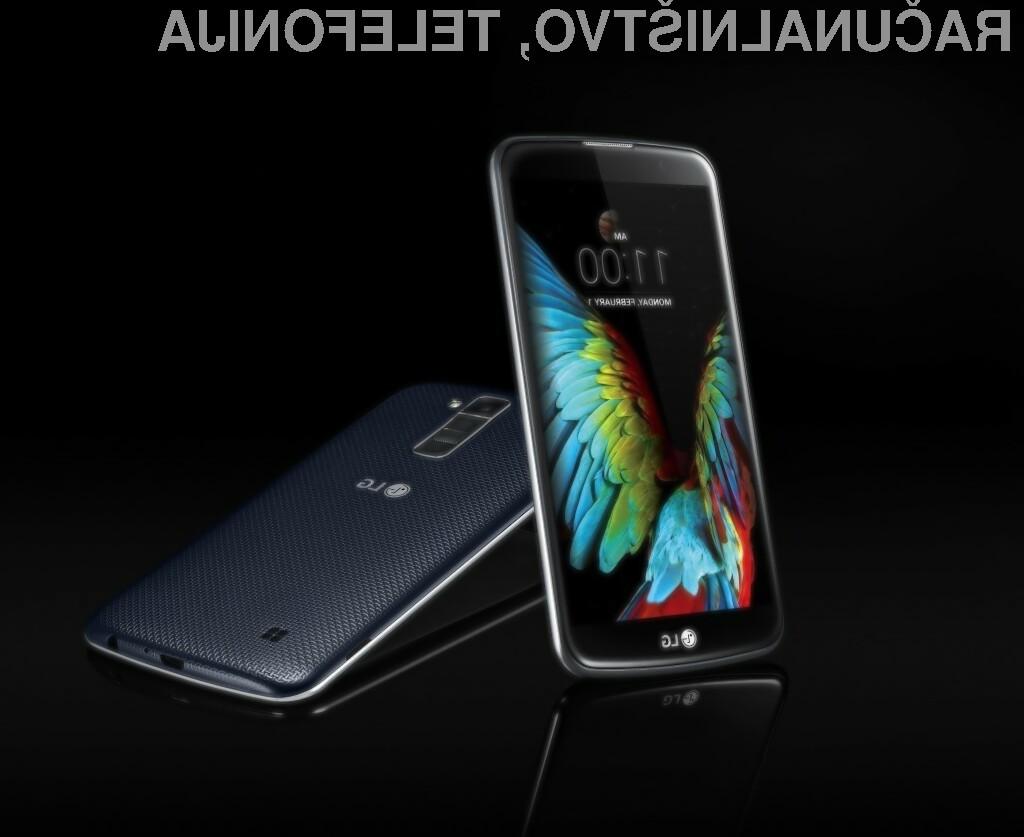 LG na sejmu CES predstavil novo serijo pametnih telefonov