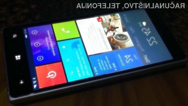 Mobilni Windows 10 bo mogoče namestiti na bogato paleto mobilnih telefonov Lumia!