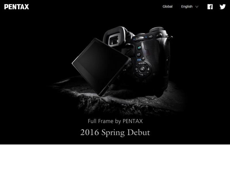 Prihaja Pentax Full-frame fotoaparat