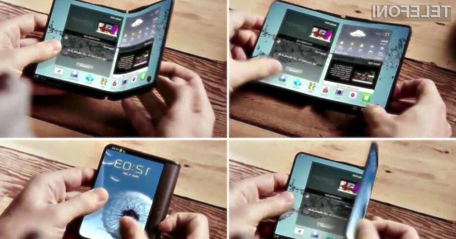 Zložljive naprave z upogljivimi zasloni podjetja Samsung obetajo veliko.