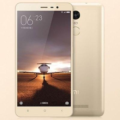 Xiaomi Redmi Note3 (the golden one).