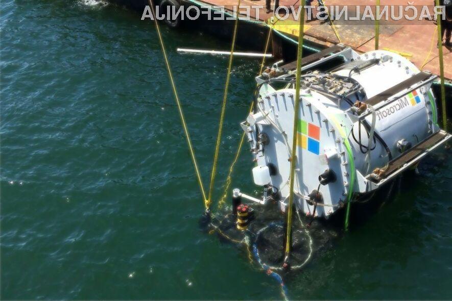 Microsoft presenetil s podvodnim podatkovnim centrom!