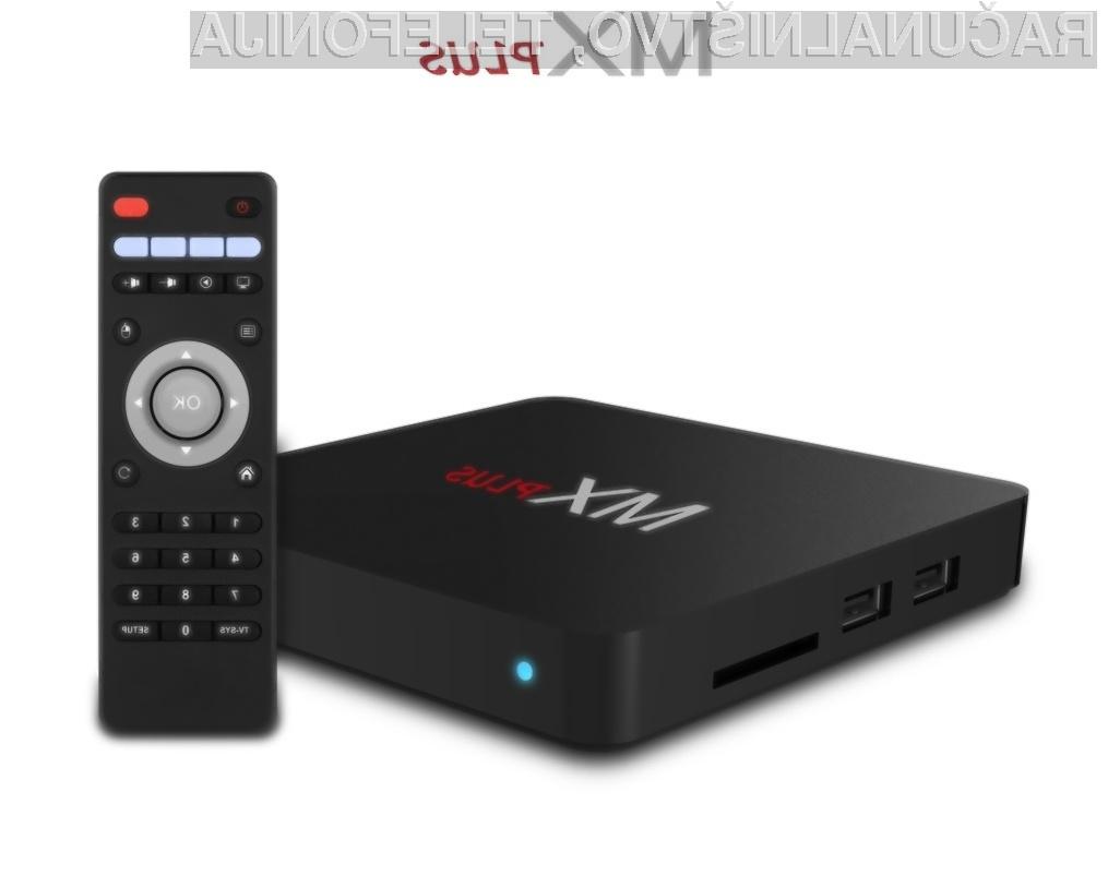 Zmogljiva 4K večpredstavnostna naprava MX Plus za zgolj 39 evrov!