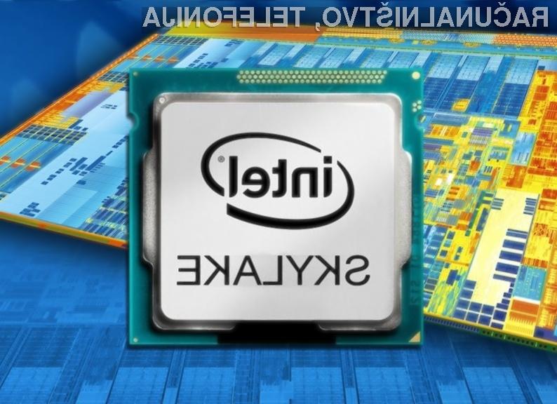 Bo Intel onemogočil navijanje poceni procesorjev Skylake?