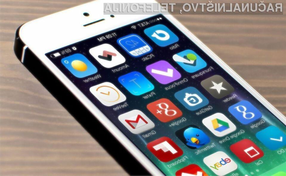 Avtonomijo delovanja mobilnega telefona iPhone lahko povečamo že z odstranitvijo aplikacij!