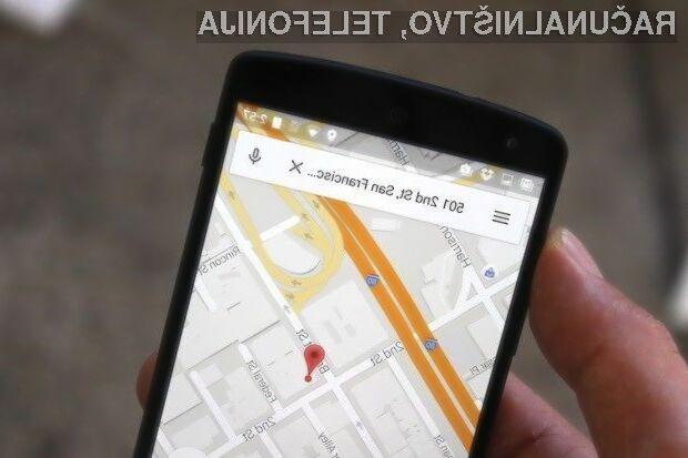 Novi Google Maps za Android je še uporabnejši!