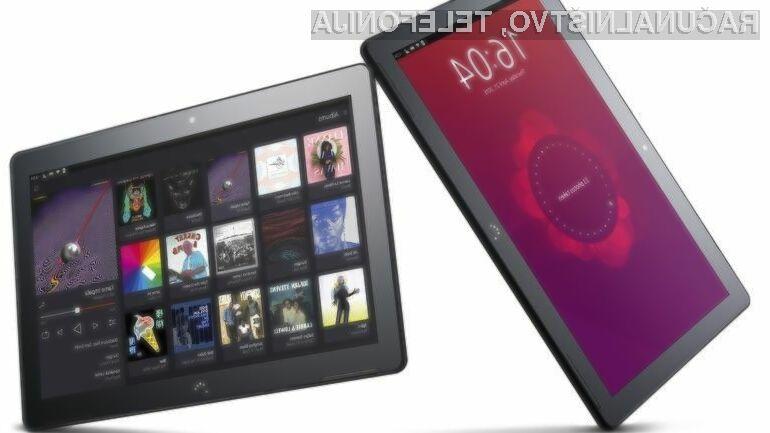 Tablični računalnik z Ubuntujem ponuja vse, kar potrebujemo za nemoteno delo!