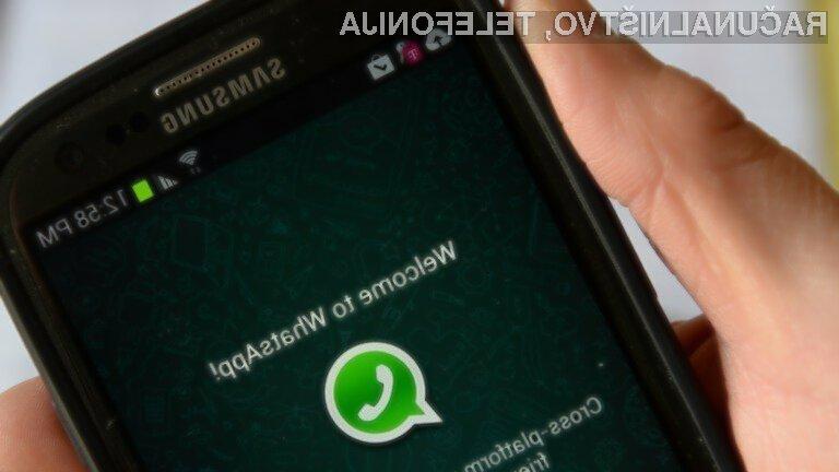 Število goljufij na spletni storitvi WhatsApp raste kot za stavo!