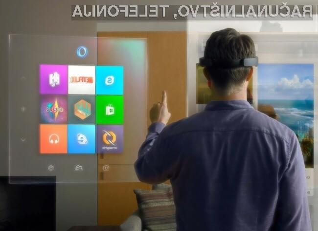 Microsoft ima z očali za navidezno resničnost HoloLens visoka pričakovanja.