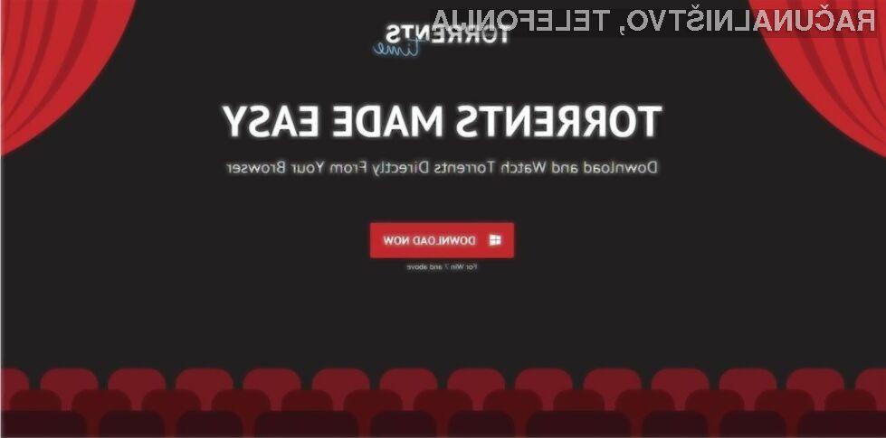 Storitev Torrent Time je prevzela mesto nekdaj zelo priljubljene storitve za pretočni video Popcorn Time.