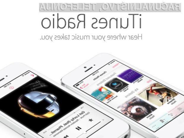 Storitev iTunes Radio je nadomestila priljubljena storitev Apple Music.